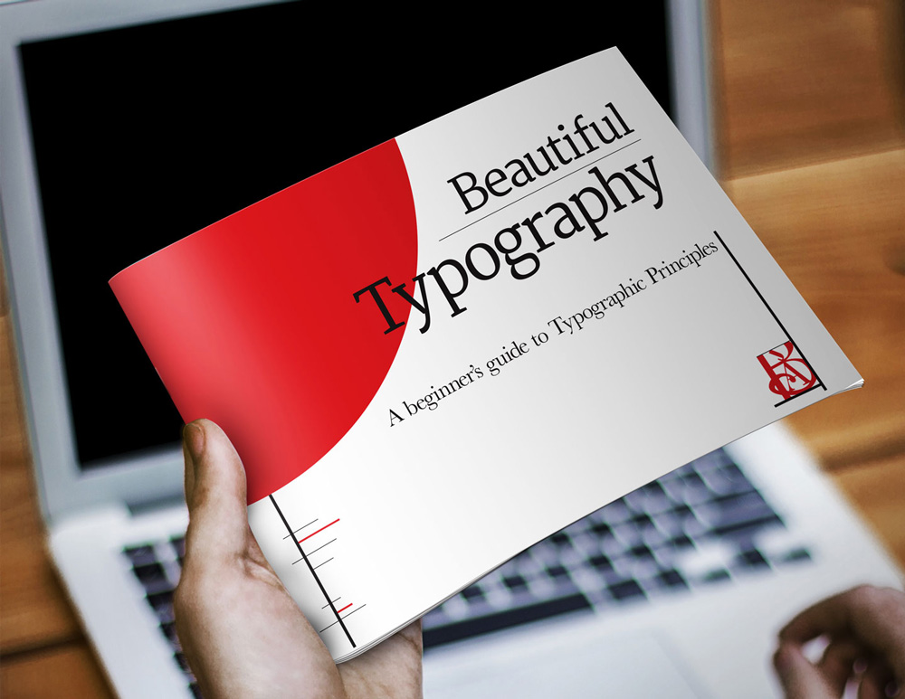 Typography on property website