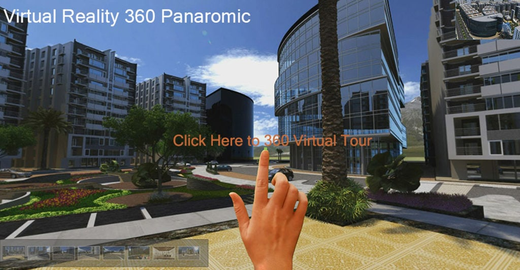 Use modern technology in order to bring to client the real enjoying on a virtual tour online