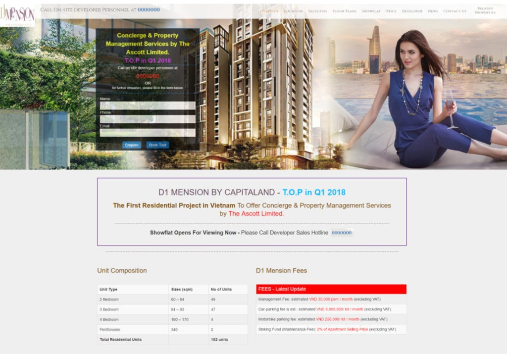 a real estate website design engage the clients