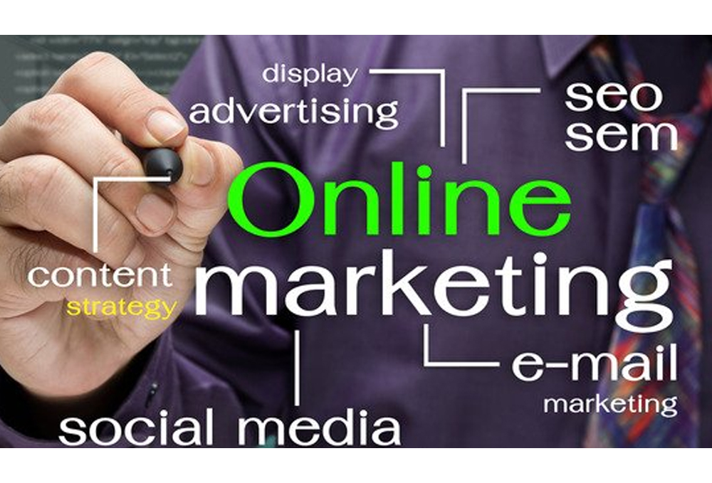 online marketing will help you build your trade mark