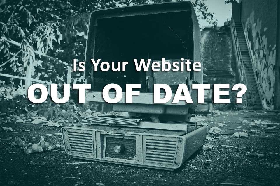 your website should not out of date